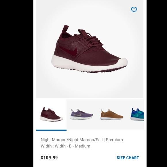 Nike Juvenate Premium Sneakers in Night Maroon